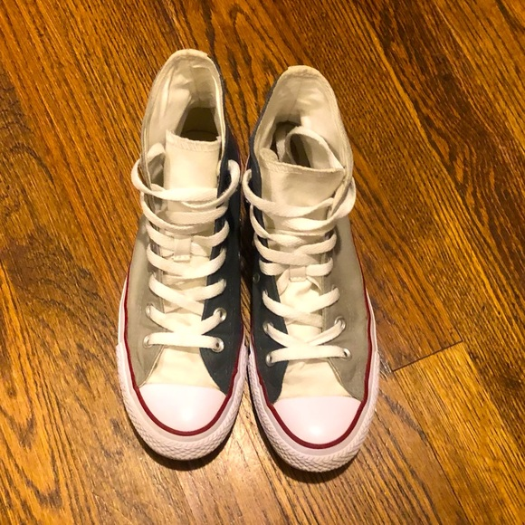 Converse High Top Two Tone Shoes